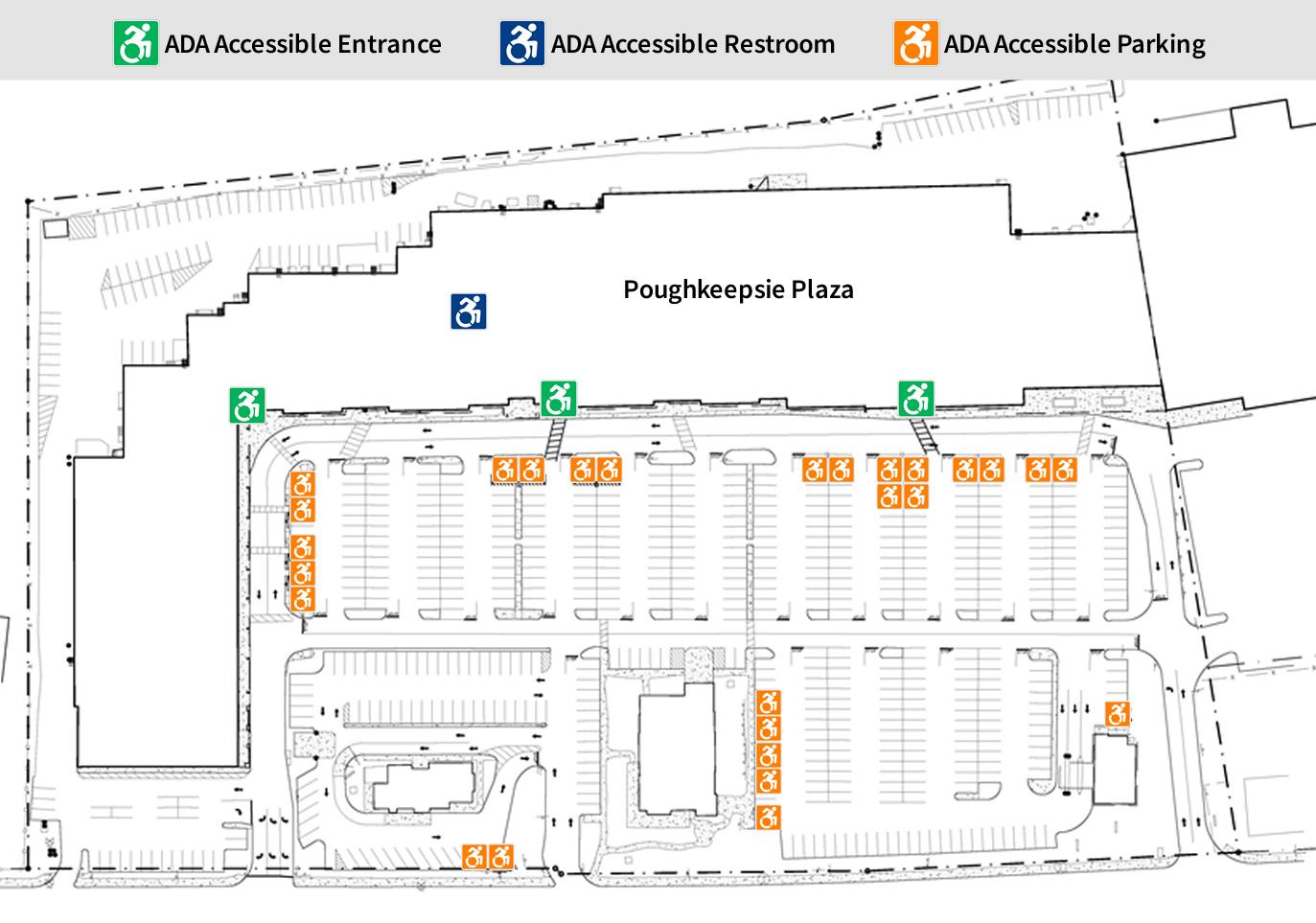 Poughkeepsie Plaza - ADA Accessibility