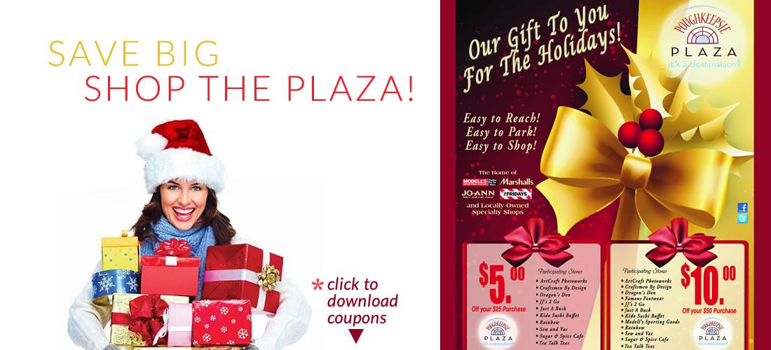 Shopping Christmas Holiday Poughkeepsie Plaza