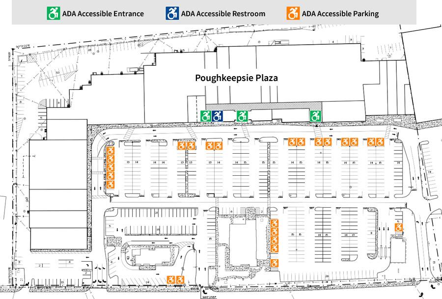 Poughkeepsie Plaza - ADA Accessibility 2018