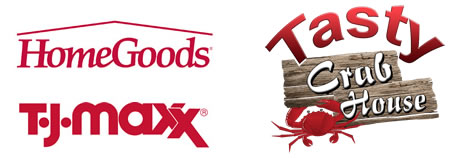 Now Open - TJ MAXX Home Goods, Tasty Crab House