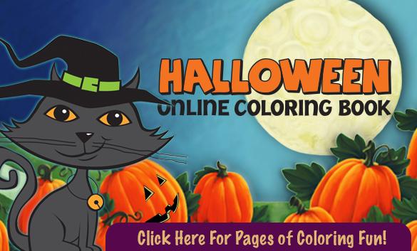 Halloween Online Coloring Book