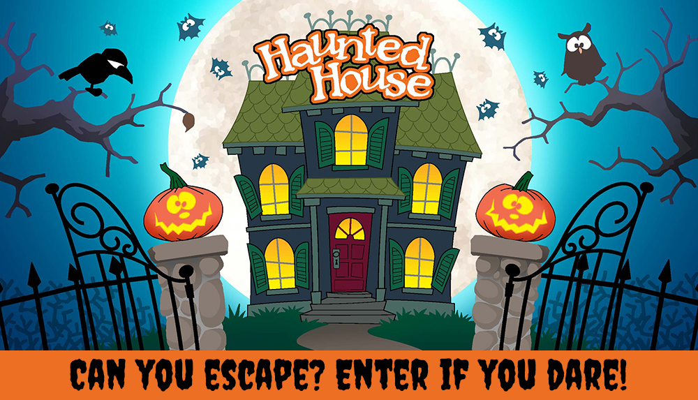 Haunted House interactive game contest